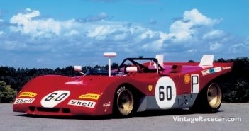 1971 Ferrari 312P. Photo: Peter Collins