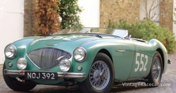 1953 Austin-Healey 100. Photo: Peter Collins