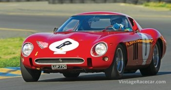 Revised ferrari gto granted homologation by fia (1964).Photo: Jim Williams