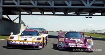 1988 Jaguar XJR9 & 1991 Jaguar XJR12Photo: Peter Collins