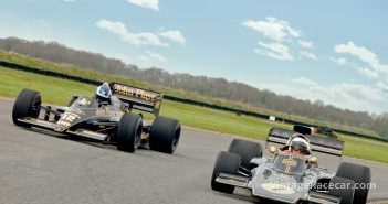 1972 Lotus 72D and 1986 Lotus 98T. Photo: Peter Collins