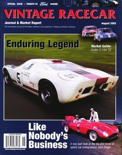 August 2003 VRJ (Ford Racing Tribute Special Issue)