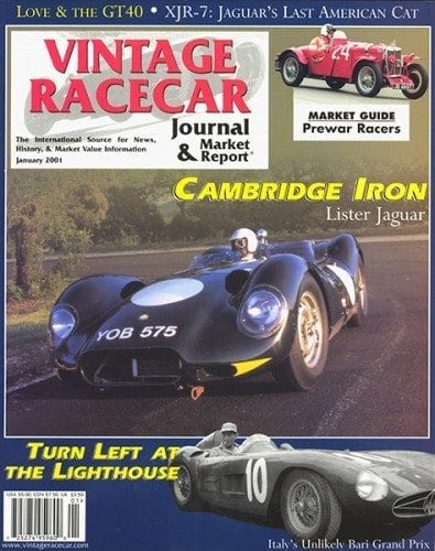 Jan 2001 Cover