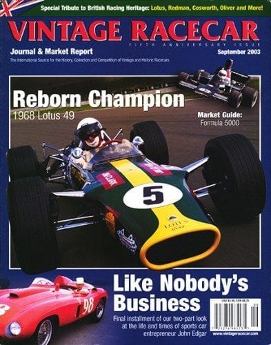 September 2003 VRJ (British Racing Heritage Special Issue)