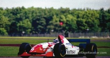 Inoue is shown here in the Hart-powered Footwork FA16 at SilverstoneÕs 1995 British Grand Prix where he spun into retirement after 16 laps.Photo: Peter Collins