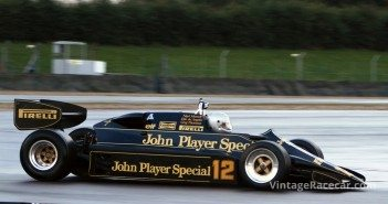Active suspension is tested for the first time on an F1 car when Dave Scott drives the Lotus 92 at Snetterton, England. Lotus founder Colin Chapman dies the same morning from a heart attack (1982).Photo: Pete Austin
