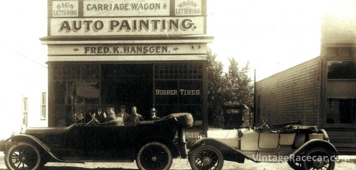 The Hansgen Family has a long history in the automotive trade, tracing back to this comprehensive service facility in Westfield, New Jerssey, circa 1913.