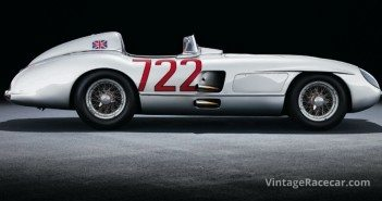 Mercedes-Benz 300 SLR Rennsportwagen, Moss 722, W 196. Photo: Mercedes-Benz-Classic