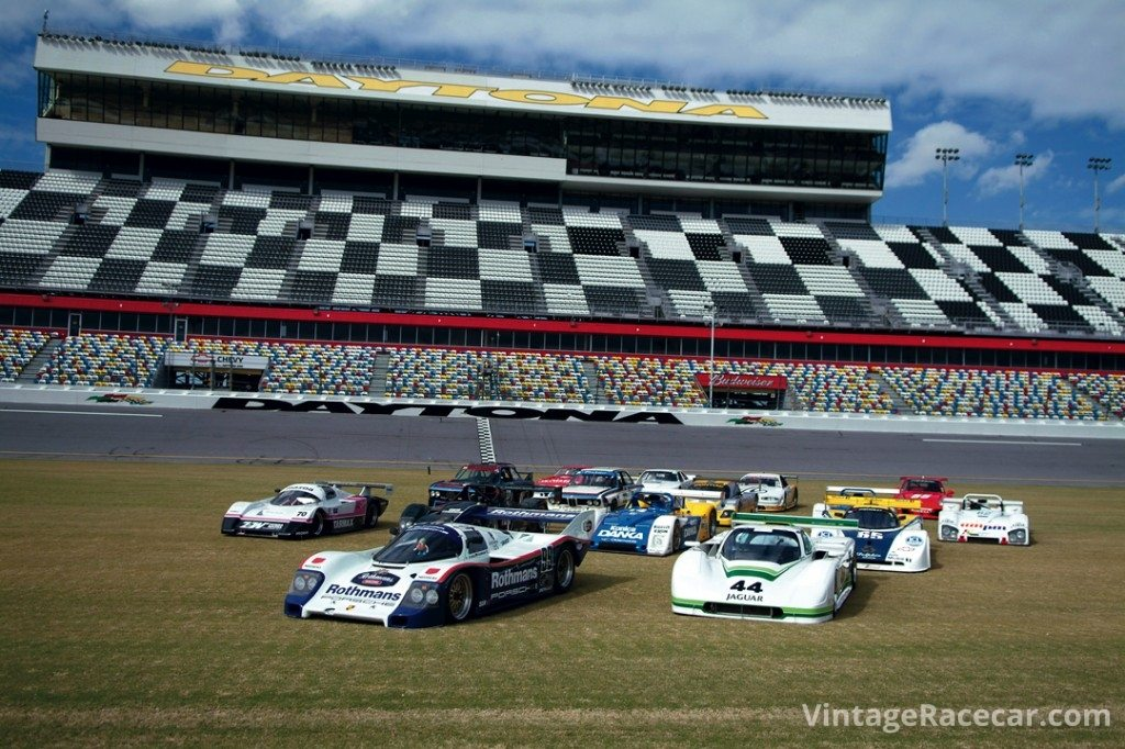 Legends of IMSA at Daytona. <br />Photo: Chuck Andersen
