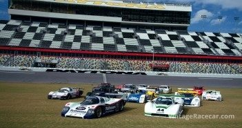 Legends of IMSA at Daytona. 