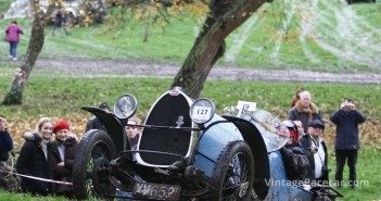 Steep climb for Peter Walby and his 1924 Bugatti Brescia. Pete Austin