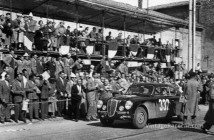 Lancia Aurelia B20s caused a stir on the 1951 Mille Miglia, as Maglioli and co-driver Giovanni Bracco finished 2nd.