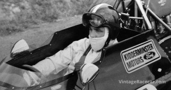 Tony aboard his Brabham BT33, the car with which he briefly held the outright record at Shelsley Walsh.