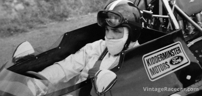 Tony aboard his Brabham BT33, the car with which he briefly held the outright record at Shelsley Walsh.Photo: Tony Griffiths Archive
