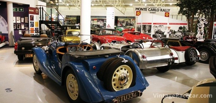 Overview of the sports car 