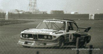Walkinshaw on his way to victory in the inagrual Silverstone 6hrs in 1976.