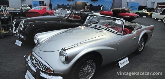 Concours Daimler SP went for £50,600. Peter Collins