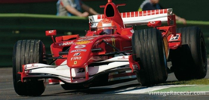 Schumacher and Ferrari dominated Grand Prix racing as the new millenium opened, winning five consecutive Drivers Championships and six straight Constructors crowns.