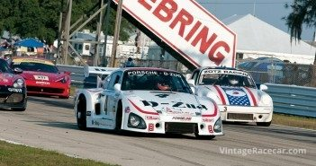 Don WhittingtonÕs Porsche 935K3 leads Ron CantyÕs 911.