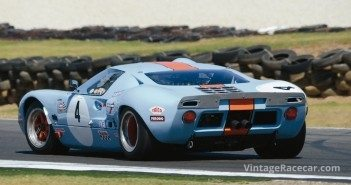 The Ford GT40 of Andrew Newell.Photo: Neil Hammond