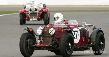 Richard Iliffe leans his 1934 Riley Elf into a right-hander.