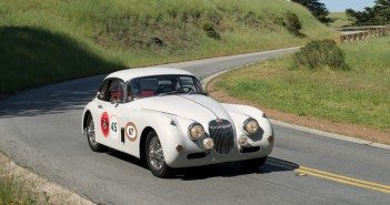 Ron Rader's 1957 Jaguar XK150 fhc.