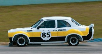 Sean Brown at speed in his Õ75 Ford Escort RS.Photo: Chuck Andersen