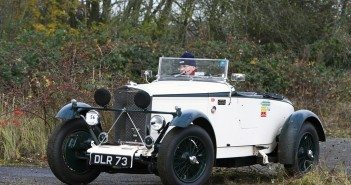 The 1936 Talbot 105 Alpine Replica of David Thomson.