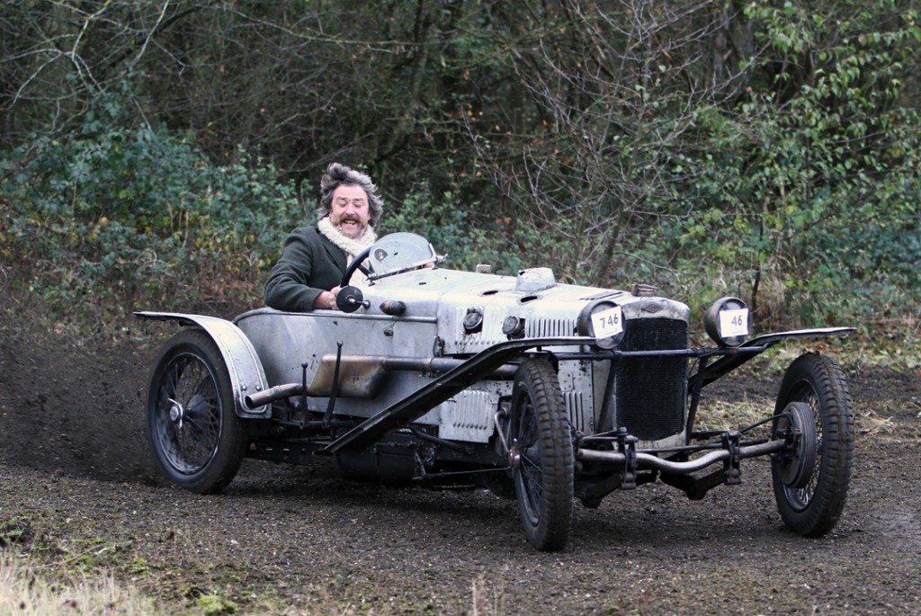 Dougal Cawley in his 1929 GN Ford Piglet.Photo: Pete Austin