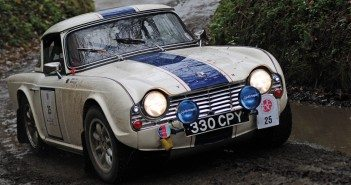 The Triumph TR4 of Blunt and Duck.