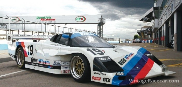 1986 BMW GTP. Photo: Pete Austin