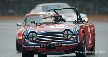 This rare Triumph TR5 was driven by Colin Sharp. 