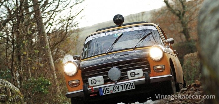 Unusual Peugeot 404 of Ruter and Huber.Photo: Peter Collins