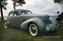 1936 Cord 810 Winchester Sedan - Josh and Betty Malks.