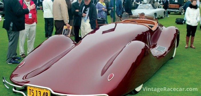 Stunning 1948 Norman Timbs Special.Photo: Casey Annis