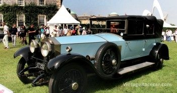 Rolls-Royce Silver Ghost.