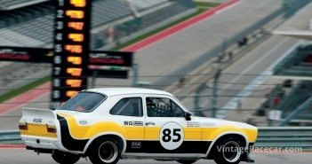 Racing this Õ75 Ford Escort RS MkI was Sean Brown. 