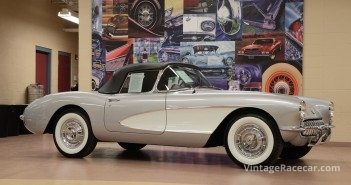 1957 Chevrolet Corvette (sold at $99,000).