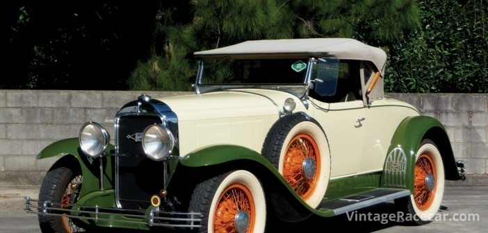 1929 Buick Ò6 wheel equippedÓ Roadster sold for AUS$52,500.