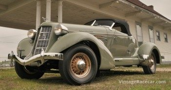 1936 Auburn 852 SC Boattail Speedster.