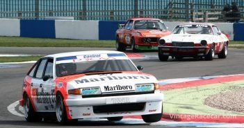 DHF Historic Touring Car Challenge - Richard Postins (Rover  SD1) - Image by Pete Austin