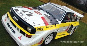 1985 Audi Quattro E2 Rally Car. Photo: Mike Jiggle