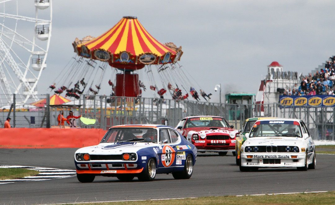 Racing Spirit Lives at Silverstone\'s Classic - Vintage Road & Racecar