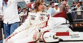 Janet Guthrie becomes the first woman to pass the Indy 500 rookie test (1976).
