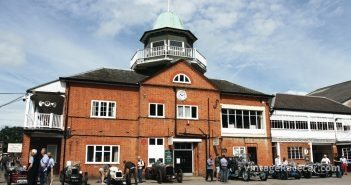 The stately Brooklands Clubhouse.Photo: Pete Austin