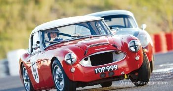 The Vaughan and Welch Healey 3000 at La Servie.