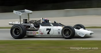Tony Adamowicz, 1969 Eagle Mk V in Carousel Jim Hatfield
