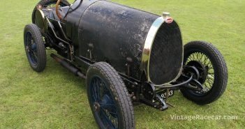 1924 Bugatti Type 13. Photo: Pete Austin