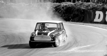 John Rhodes Mini Cooper S. Photo: Maureen Magee