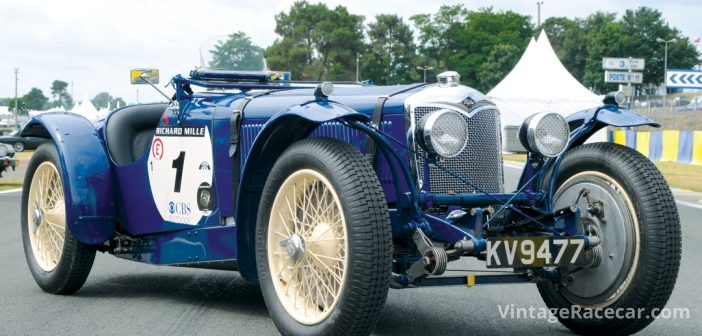1934 Riley Nine MPH Le Mans Special. Photo: Peter Collins